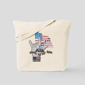 Music to my Eyes - Tote Bag