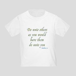 Golden Rule Toddler T-Shirt