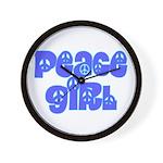 Peace Girl Wall Clock