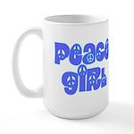 Peace Girl Large Mug