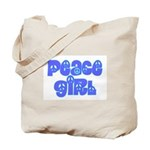 Peace Girl Tote Bag