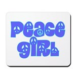 Peace Girl Mousepad