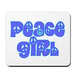 Peace Girl Mousepad