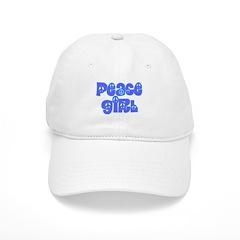 Peace Girl Baseball Cap
