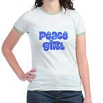 Peace Girl Jr. Ringer T-Shirt
