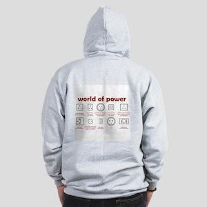 World of Power Zip Hoodie