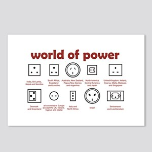 World of Power Postcards (Package of 8)