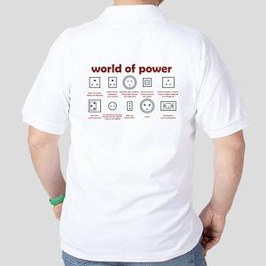 World of Power Golf Shirt
