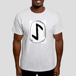 Viking Rune Eihwaz Ash Grey T-Shirt