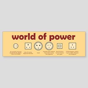 World of Power Bumper Sticker