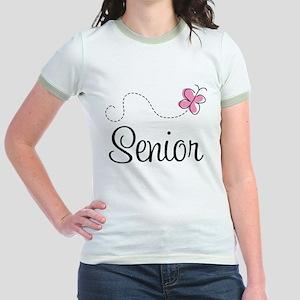 Cute Senior Class Jr. Ringer T-Shirt