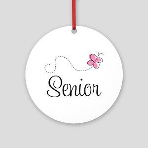 Cute Senior Class Ornament (Round)