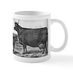 Milking Devon Cow Mug: Wisconsin Belle