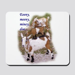 Eeeny Meeny Goat Mousepad
