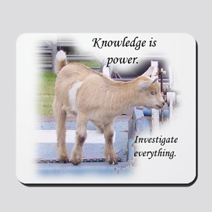 Nosey Goat Mousepad