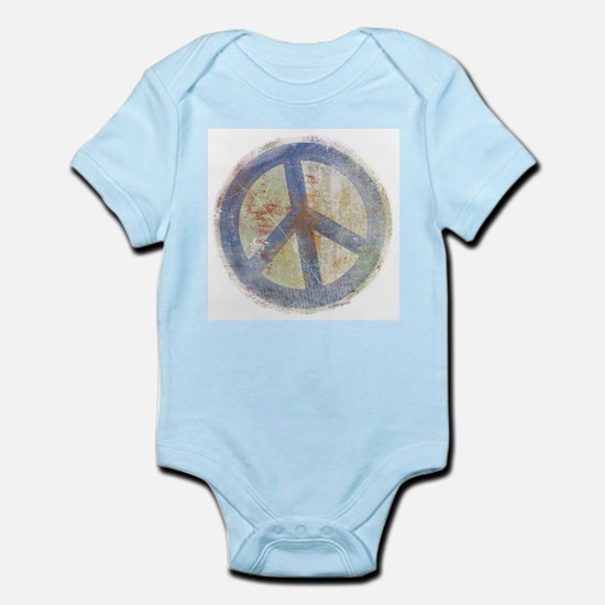 Urban Chic Peace Sign Infant Creeper