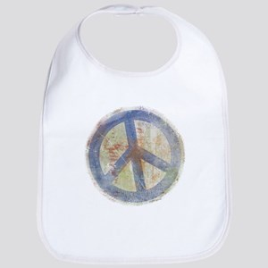 Urban Chic Peace Sign Bib