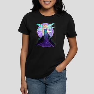 Purple Moon Women's Dark T-Shirt