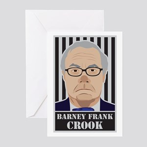 Barney Frank Crook Greeting Cards (Pk of 20)