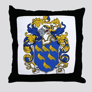 Appleby Coat of Arms Throw Pillow