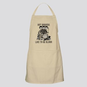 Hot Rodders like to be blown! BBQ Apron