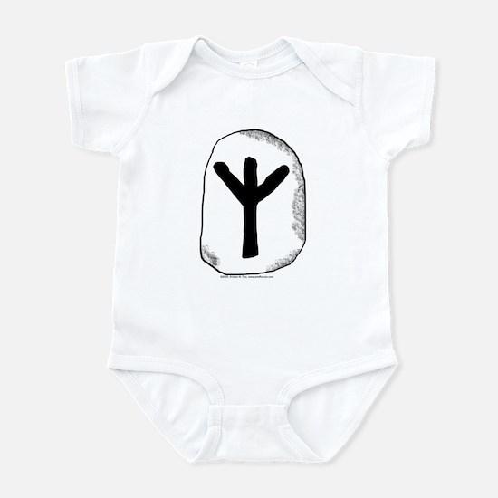 Viking Rune Algiz Infant Creeper