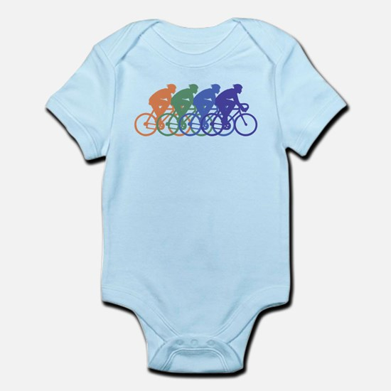 Cycling (Male) Infant Bodysuit