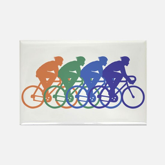 Cycling (Male) Rectangle Magnet