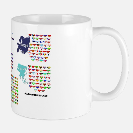 All Countries flags Mug