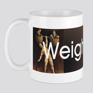 Weightlifting Old School Mug