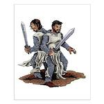 Templar Knights Small Poster