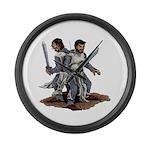 Templar Knights Large Wall Clock