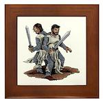 Templar Knights Framed Tile