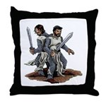 Templar Knights Throw Pillow