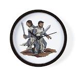 Templar Knights Wall Clock