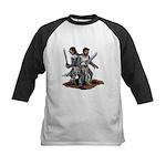 Templar Knights Kids Baseball Jersey