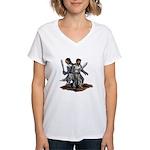 Templar Knights Women's V-Neck T-Shirt
