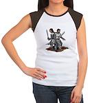Templar Knights Women's Cap Sleeve T-Shirt