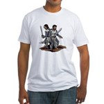Templar Knights Fitted T-Shirt
