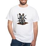 Templar Knights White T-Shirt