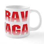 Krav Maga 20 oz Ceramic Mega Mug