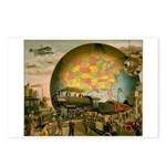 1910 World Of Transportation Postcards (Package of