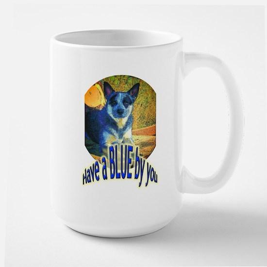 """""""Blue By You"""" Large Mug"""