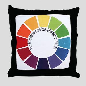 True Colours (UK) Throw Pillow
