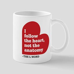Alice L Word Quote Mug