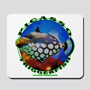Picasso Triggerfish Mousepad