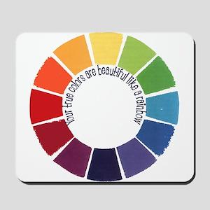 True Colors (US) Mousepad