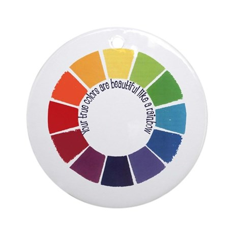 True Colors (US) Ornament (Round)
