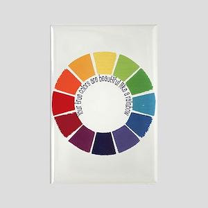 True Colors (US) Rectangle Magnet