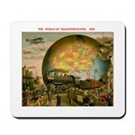 1910 World Of Transportation Mousepad